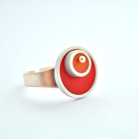bague tub rouge orange