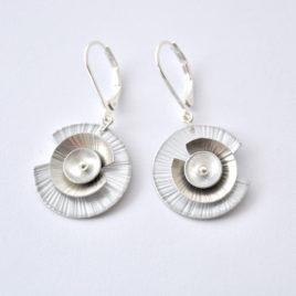 petites boucles d'oreille Nénuphar 1