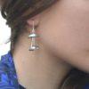 boucles d'oreille méduses