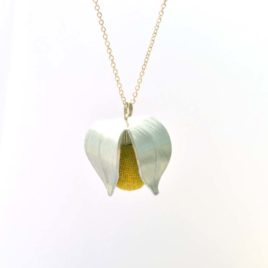 collier physalis jaune